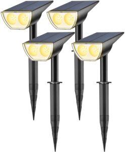 Consicot Dusk-to-Dawn Solar Spotlights