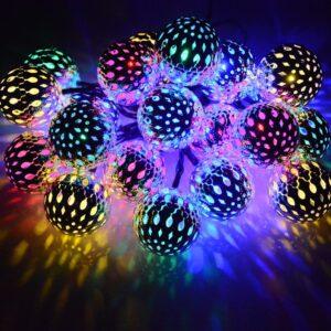 Dephen Solar String Lights